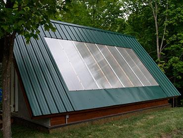 straw bale solar greenhouse